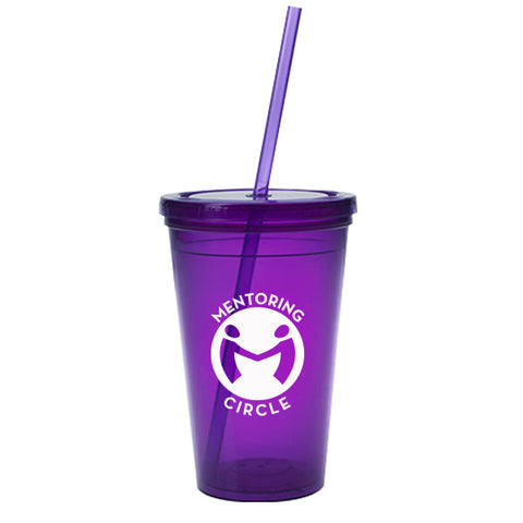 Custom Tumblers with Straw