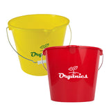 Plastic Bucket (7 Quart)  with Logo (Q544165)