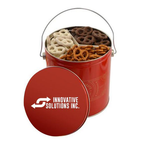 3 Way Pretzel Tin (Q622711)
