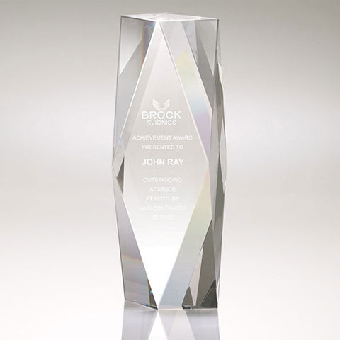 Imprinted Large Crystal Tower Awards (Q635665) -  - 1