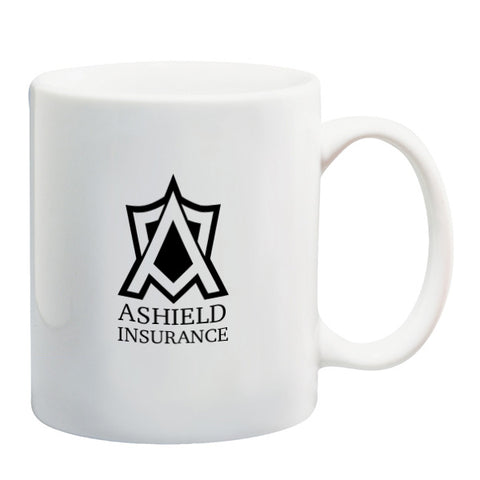 11 Oz. White Ceramic Mugs (Q662811)