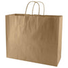 "Promotional 50% Recycled Natural Kraft Shopping Bags (16"" x 6"" x 13"" x 6"") (Q68794) -  - 2"