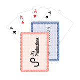 Poker Night Playing Cards  with Logo (Q696411)