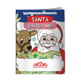 Coloring Book: Santa Visited Me!  with Logo (Q712711)