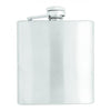 Logoed Stainless Steel Flask (6 oz) (Q722465) -  - 2