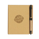 Promotional Eco-Inspired Notebook With Pen (Q726265) -  - 1