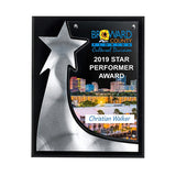 The Rising Star Plaques - Full Color  Imprinted with Logo (Q729811)