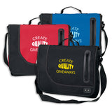 600D Poly Messenger Bag with Top Flap (Q745311)