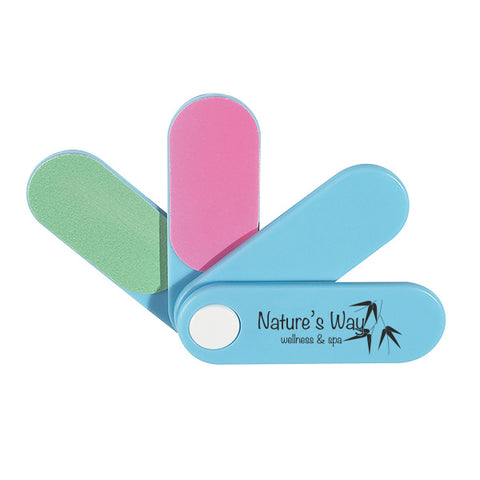 4-In-1 Mini Pocket Nail Files (Q753411)