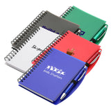 Hardcover Notebook & Pen Set  with Logo (Q763475)