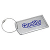 Logoed Prestige Brushed Metal Luggage Bag Tag (Q76450) -  - 1