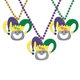 Jester Bottle Opener Beads  with Logo (Q773611)