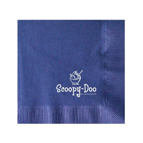 Colored 2-Ply Beverage Napkins (Q77437)