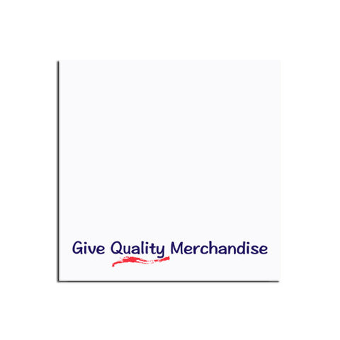 "Promotional BICå¨ 3"" x 3"" Adhesive Notepad  25 sheet (Q79937) -  - 1"