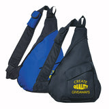 Imprinted Sling Backpack (Q802776) -  - 1