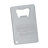 Stainless Credit Card Bottle Opener  with Logo (Q810565)
