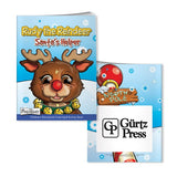 Coloring Book with Mask: Rudy Reindeer  with Logo (Q812711)