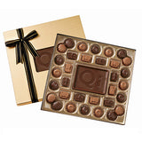 Medium Custom Chocolate  Delights Gift Box  Imprinted with Logo (Q81514)