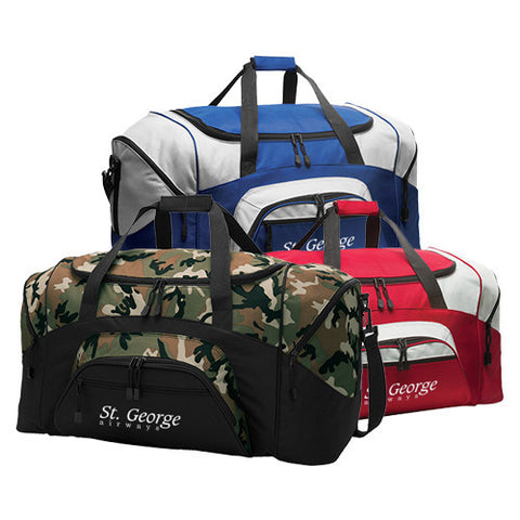 Custom Port & Company® - Colorblock Sport Duffel (Q817465) -  - 1