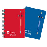 Custom Pen-Buddy Notebook (Q82760) -  - 1
