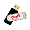 Promotional Domeable Rotate Flash Drive 2GB (Q836255) -  - 1