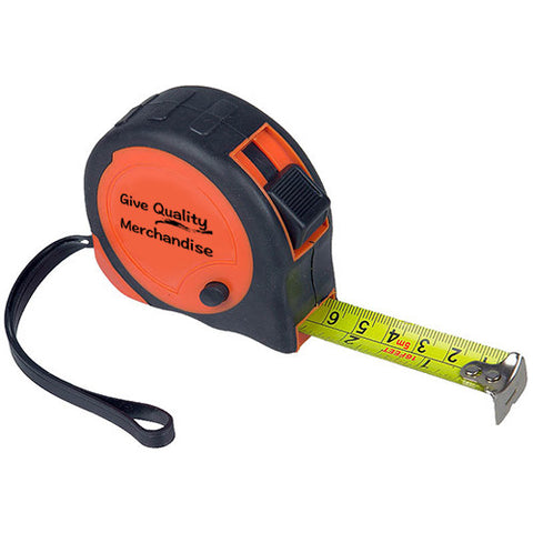 Imprinted 16 Footer - 16' Grip Tape Measure (Q83637) -  - 1