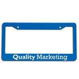 License Plate Frame  Imprinted with Logo (Q88550)