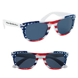 Custom Patriotic Polycarbonate Malibu Sunglasses (Q888311) -  - 1
