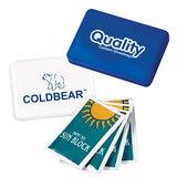4 pcs. SPF30 Sunscreen Pack  Imprinted with Logo (Q895511)