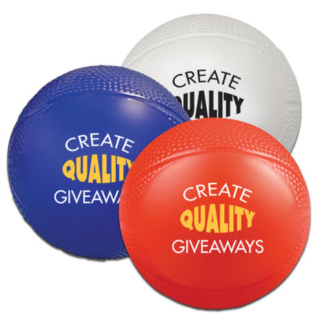 "Promotional Mini Vinyl Basketballs (4.25"" dia) (Q90338) -  - 1"