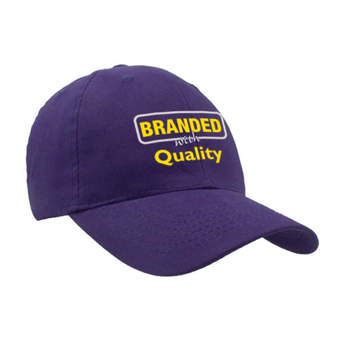 Brushed Cotton Twill Cap (Q909576)