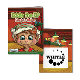 Coloring Book with Mask: Eddie the Elf  with Logo (Q912711)