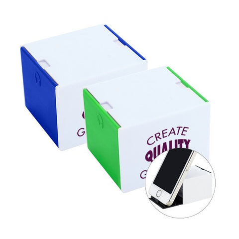 3-In-1 Plastic Desk Cube (Q914411)