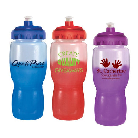 18 oz. Mood Poly-Saver Mate Bottle with Push and Pull Cap (Q914611)