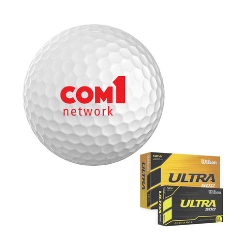 Promotional Wilson Ultra (R) 500 Golf Ball (Q92038) -  - 1