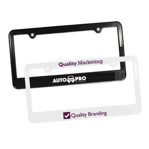 2 Holes License Plate Frame - License Plates with Logo - Q924611