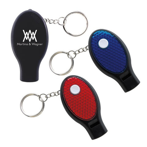 ABS Plastic Dual Function Whistle and Keylights (Q145411)