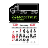 2020 Peel-N-Stick® Magnetic Semi Truck Calendars  with Logo (Q964711)