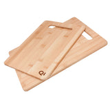 Logoed 2 PC Bamboo Cutting Board Set (Q980375) -  - 1