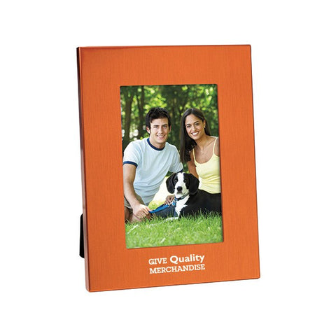 "4"" x 6"" Colorful Brushed Aluminum Frame (Q982611)"