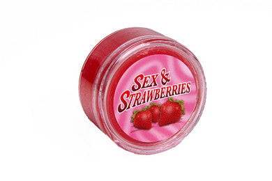 Sex And Strawberry - 1 oz. Ball & Chain Edible Body Paint
