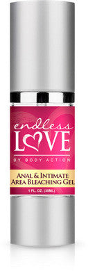Endless Love Anal and Intimate  Area Bleaching - 1 Oz. Body Action Anal Bleach