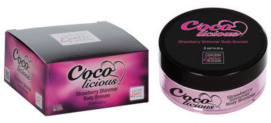 Coco Licious Strawberry  Shimmer Body Bronzer Boxed