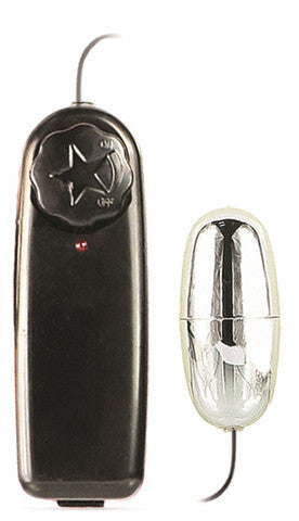 Silver Power Bullet Bulk Blush Novelties Remote