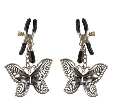 Fetish Fantasy Series Butterfly Nipple Clamps Pipedream Nipple Stimulators