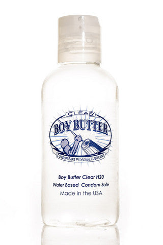 Boy Butter Clear H2o - 4 Oz. Boy Butter Water Based Lubricants daily deals