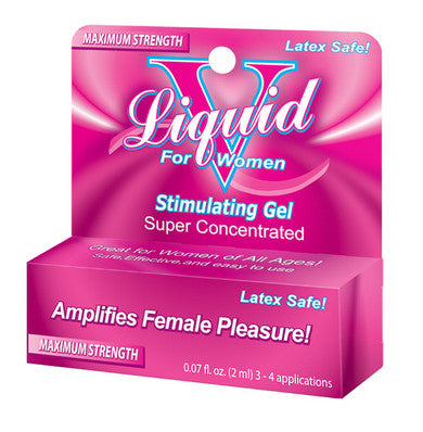 Liquid V Female Stimulating Gel Body Action Lubricants, Creams & Glides