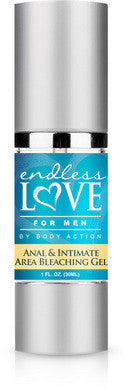 Endless Love for Men Anal and  Intimate Area Bleaching -  1 Oz. Body Action Hygiene, Enema & Douche