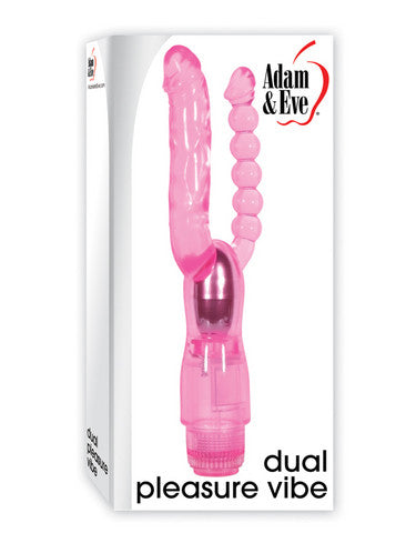 Adam And Eve Dual Pleasure Vibe - Pink Adam and Eve Vibrators daily deals
