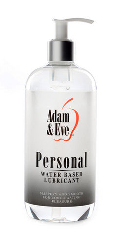 Adam And Eve Personal Water-Based Lubricant - 16 oz. Adam and Eve Lubricants, Creams & Glides daily deals